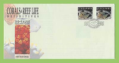 Singapore 1994 Coral Reef NVI stamps on First Day Cover