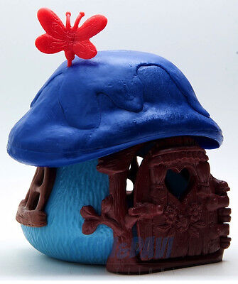 PUFFO PUFFI SMURF SMURFS Cottages from French files Casetta piccola Francese 3b