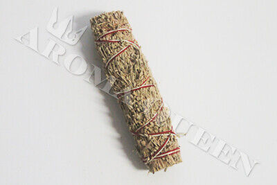 AQ Smudge Stick - SMALL DRAGONS BLOOD & MOUNTAIN SAGE 10cm + Instruction Card