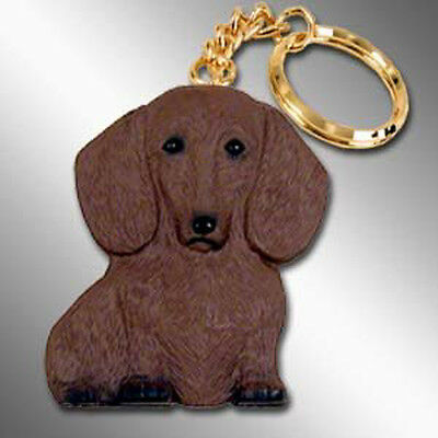 Dachshund Red Dog Best Friends Unbreakable Keychain Key Chain