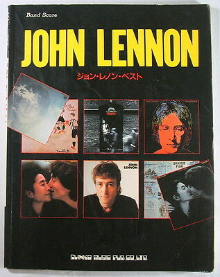 John Lennon Best Band Score Japan Guitar Tab