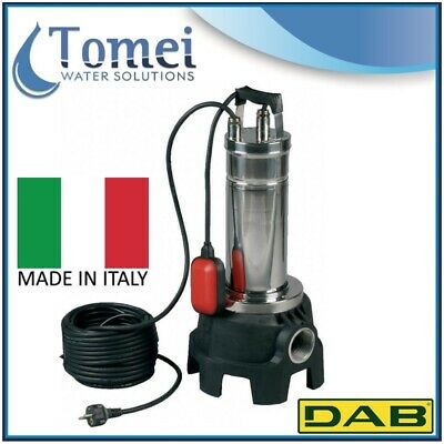 DAB Pump Submersible Sewage And Waste Water FEKA VX 750 M-A 0,75KW 1x220-240V