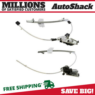 [Front Pair] Set Of 2 Power Window Lift Regulators For Jeep Liberty Left & Right
