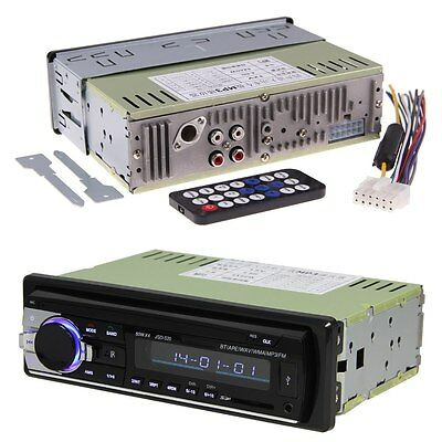 Bluetooth Radio Audio In Dash MP3/USB/SD/AUX/FM Car Stereo Player Receiver New