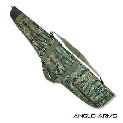 Anglo Arms Rifle Camo gun case bag inc strap, New unused, fleece lined Airsoft