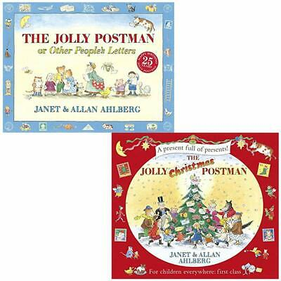 The Jolly Postman Collection 2 Books Children Christmas Gift Set By Janet Ahlbe