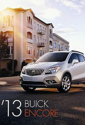 2013 Buick Encore crossover new vehicle brochure