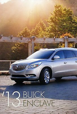 2013 Buick Enclave crossover new vehicle brochure