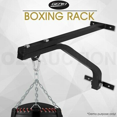 Heavy Duty Punch Bag Wall Bracket Steel Boxing Mount Hanging Stand Training