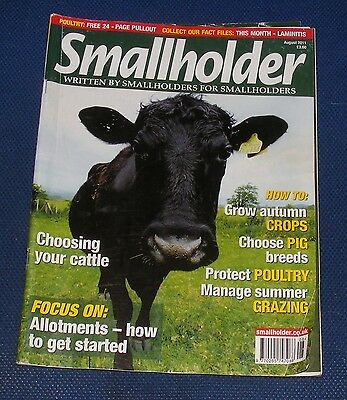 Smallholder August 2011 - Focus On: Allotments - How To Get Started