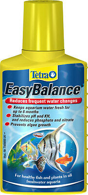 Tetra Easy Balance 100ml 250ml 500ml reduce water changes in Aquarium