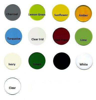 Precut System 96 COE GLASS CIRCLES 3 Inch Set of Three Pieces 13 Color Choices