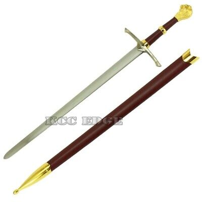"40"" Fanasy Chronicles of Narnia Peter's Sword w/ Scabbard Costume Display Xmas"