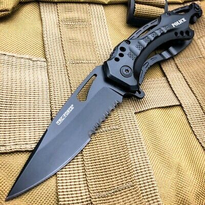"8"" TAC-FORCE Spring Assisted TACTICAL TANTO Folding Blade Open Pocket Knife NEW"