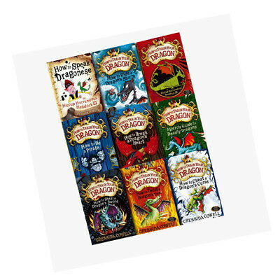 Hiccup How to Train Your Dragon 9 Books Collection Set Pack BRAND NEW