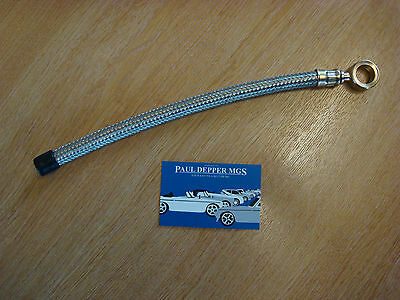 MG MGB/ MGB GT/ MGC Stainless Steel Braided Fuel Hose (Pump to Pipe) AHH7371