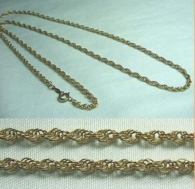 """14K Gold Chain Necklace  7.7 grams   24"""" long"""
