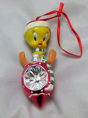 Hallmark Keepsake Looney Tunes Tweety Christmas Habitat Porcelain Ornament  **