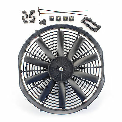 """ACP 14"""" Universal Pull Radiator Cooling Fan Straight Blades Replacement Unit"""