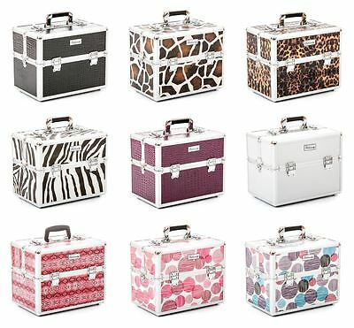 Urbanity beauty makeup cosmetic nail hairdressing vanity storage case box bag