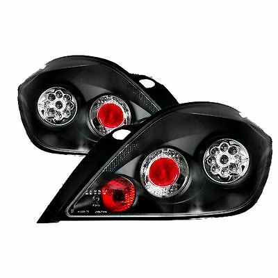 Vauxhall Astra H Mk5 2004-2009 5 Dr Hatch Led Lexus Black Rear Tail Lights Pair