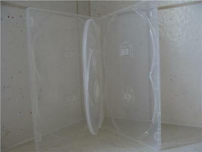 Case: DVD / CD - 1 - For 6 Discs  Clear 14mm