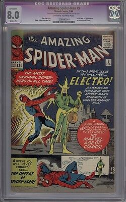 Amazing Spider-Man #9 - CGC Graded 8.0 (Apparent)