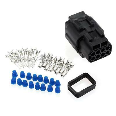 Set Car 8 Pin Waterproof Electrical Wire Cable Connector Plug
