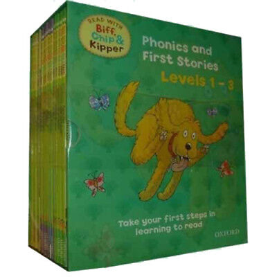 Read With Biff Chip And Kipper Levels 1-3 Children School Zone Collection 25 Set