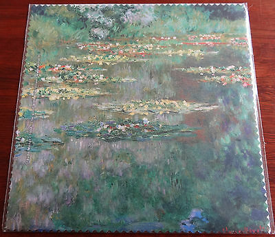 "Glasses Cleaning Cloth ""the Pond With Water Lilies"" By Claude Monet"