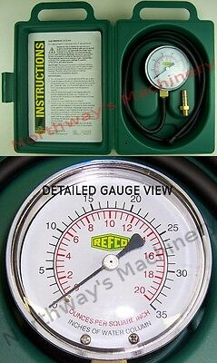 Refco 4683477 GPK0-35 Gas Pressure Test Kit 0 to 35 inches WC HVAC Tools
