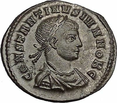 CONSTANTINE II Jr Constantine the Great son Ancient Roman Coin Wreath   i44291