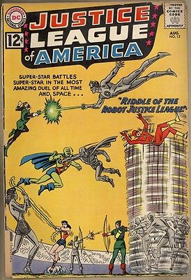 Justice League Of America #13 - FR/GD