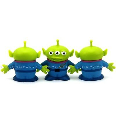3 Disney Toy Story Alien Plastic 1.5'' figures Xmas Gifts Collectible