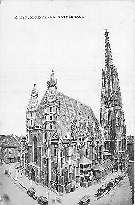 PAYS BAS amsterdam la cathedrale