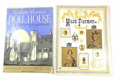 Vintage Booklet Colleen Moore's Doll House & 3 Mark Palmer Co. Catalogs 65-70