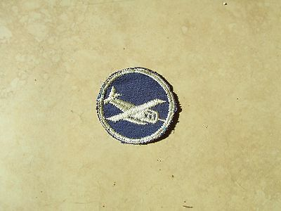 US Army Glider Officer Overseas cap patch  Violet colored variation