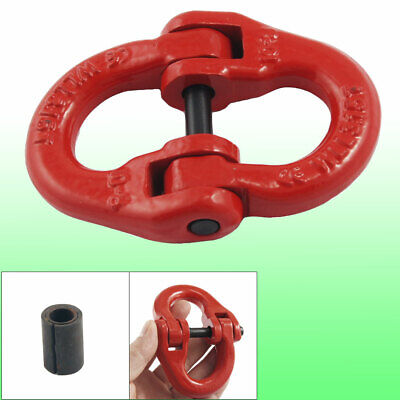 3.15Ton Metal Red Printed Logging Rigging Connect Link Chain