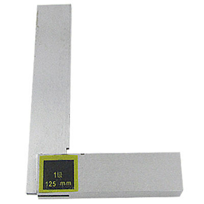 125mm x 80mm Non-marked Scales L Square Ruler Tool New