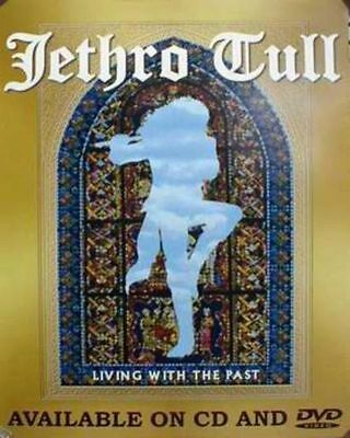 JETHRO TULL 2001 living with the past promo poster ~MINT cond. NEW old stock~!!