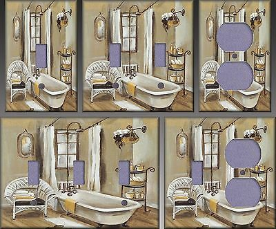 French Bath III Wall Decor Light Switch Plate Cover