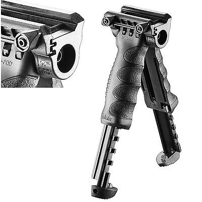 FAB Defense QUICK RELEASE 2 in 1 BIPOD Tactical Foregrip tpod T-POD G2 QR