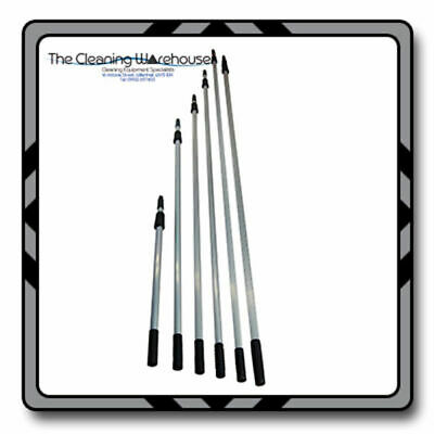 Three section aluminium telescopic Window cleaning poles - Various Sizes!
