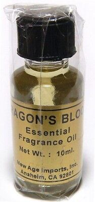 Essential Fragrance India Aroma Oils by New Age: Dragons Blood 10 ml (Dragon's)