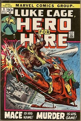 Hero For Hire #3 - VF+