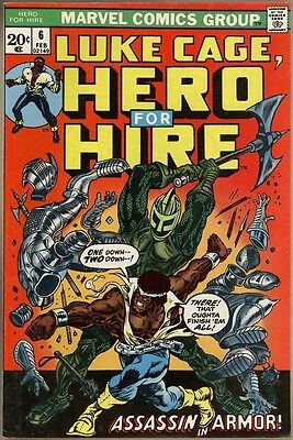 Hero For Hire #6 - VF+