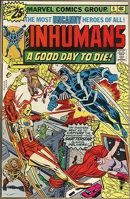 Inhumans #4 - VF+