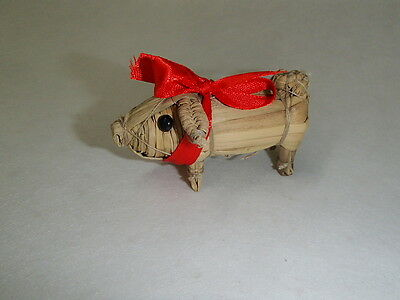 Scandinavian Swedish Finnish Norwegian Danish Straw Christmas Pig #202