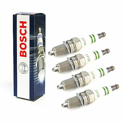 4x Bosch Super Spark Plugs Genuine Engine Ignition Service Part Set/Kit
