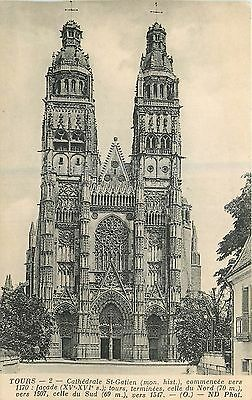 37 Tours Cathedrale St-Gatien - Nd